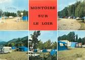 """41 Loir Et Cher CPSM FRANCE 41 """"Montoir sur Le Loir"""" / CAMPING"""
