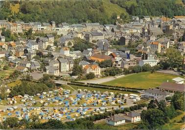 """CPSM FRANCE 63 """"Le Mont Dore, le terrain de camping """""""