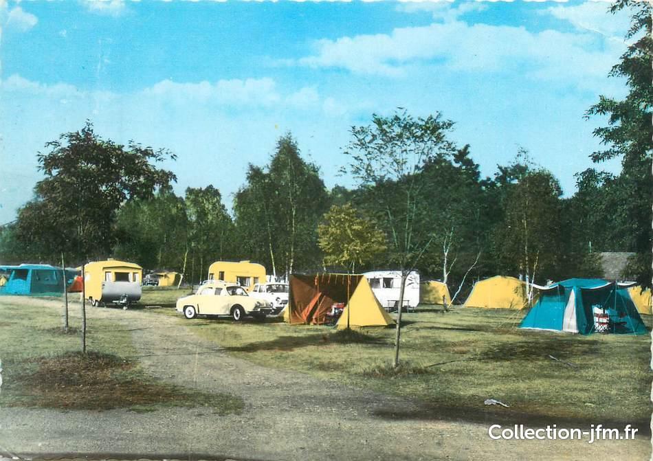cpsm france 58 cosne sur loire le terrain de camping. Black Bedroom Furniture Sets. Home Design Ideas