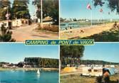 """01 Ain CPSM FRANCE 01 """"Pont de Vaux, le camping des peupliers"""""""