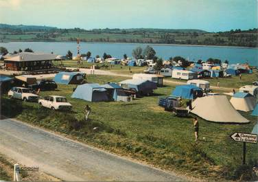 """CPSM FRANCE 39 """"Clairvaux les Lacs, le camping de la Grisière"""""""