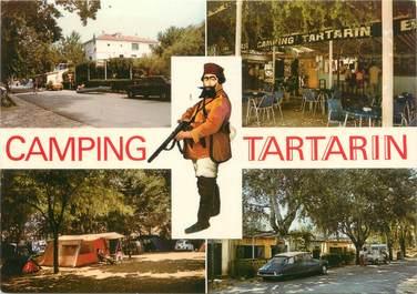 """CPSM FRANCE 13 """"Tarascon, camping Tartarin"""""""