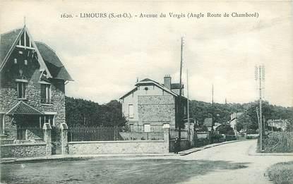 """CPA FRANCE 91 """"Limours, avenue du Vergès"""""""