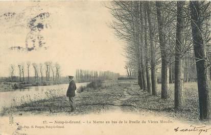 """CPA FRANCE 93 """"Noisy Le Grand, la marne au bas de la ruelle du vieux moulin"""""""