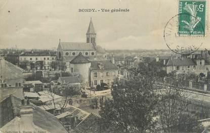 """CPA FRANCE 93 """"Bondy, vue générale"""""""