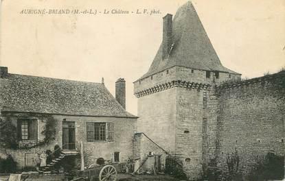"""CPA FRANCE 49 """"Aubigné Briand, le château"""""""