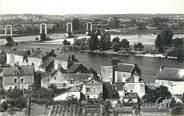 """49 Maine Et Loire / CPSM FRANCE 49 """"Montjean, le pont sur la Loire"""""""