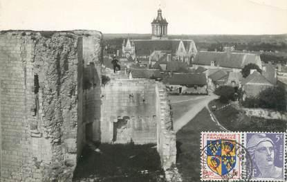 """/ CPSM FRANCE 49 """"Beaufort en Vallée, vue panoramique prise du château"""""""
