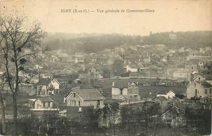 """CPA FRANCE 91 """"Igny, vue générale de Gommonvilliers"""""""