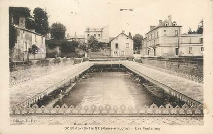 """/ CPA FRANCE 49 """"Doué La Fontaine, les Fontaines"""""""