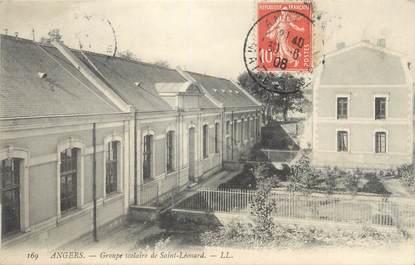 """/ CPA FRANCE 49 """"Angers, groupe scolaire de Saint Léonard"""""""