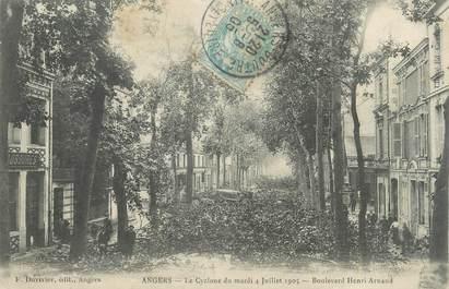 "/ CPA FRANCE 49 ""Angers, boulevard Henri Arnaud"""