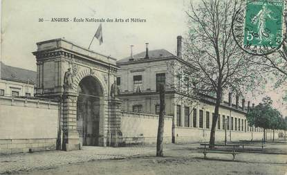 """/ CPA FRANCE 49 """"Angers, école nationale des arts et métiers"""""""