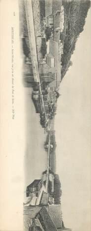 """CPA PANORAMIQUE FRANCE 77 """"Montereau, Saint Nicolas"""""""