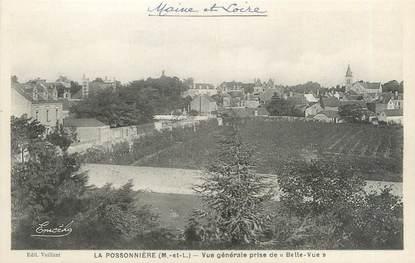 """/ CPA FRANCE 49 """"La Possonnière, vue générale prise de Belle Vue"""""""