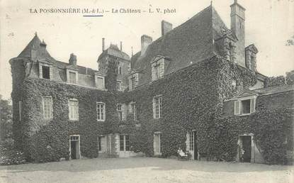 """/ CPA FRANCE 49 """"La Possonnière, le château"""""""