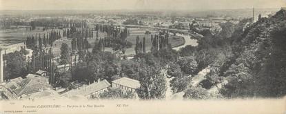 """/ CPA PANORAMIQUE FRANCE 16 """"Panorama d'Angoulême, vue prise de la place Beaulieu"""""""