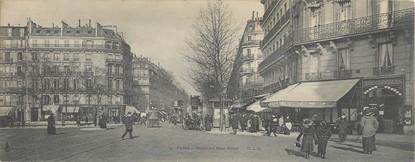 """/ CPA PANORAMIQUE FRANCE 75006 """"Paris Boulevard Saint Michel"""""""