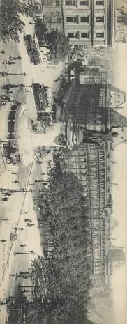 """CPA PANORAMIQUE FRANCE 75004 """"Paris, place de la République"""""""