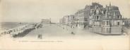 """76 Seine Maritime CPA PANORAMIQUE FRANCE 76 """"Le Tréport, panorama de la promenade de la plage"""""""