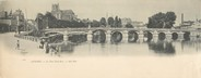 "89 Yonne CPA PANORAMIQUE FRANCE 89 ""Auxerre, le pont Paul Bert"""