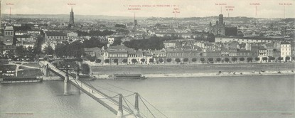 "CPA PANORAMIQUE FRANCE 31 ""Panorama général de Toulouse"""