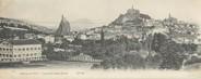 """43 Haute Loire CPA PANORAMIQUE FRANCE 43 """"Panorama du Puy, vue prise du Rocher d'Espaly"""""""
