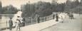 """CPA PANORAMIQUE FRANCE 75016 """"Paris, bois de Boulogne, la pointe du grand Lac"""""""