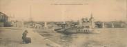 """75 Pari CPA PANORAMIQUE FRANCE 75007 """"Paris, pont de Grenelle et statue de la liberté"""""""