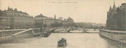 "75 Pari CPA PANORAMIQUE FRANCE 75004 ""Paris, la Seine, vue prise du Pont neuf"""