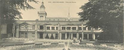 """CPA PANORAMIQUE FRANCE 73 """"Aix Les Bains, villa des Fleurs"""""""