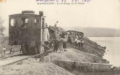 """/ CPA FRANCE 13  """"Marignane, la décharge de la Palud"""""""