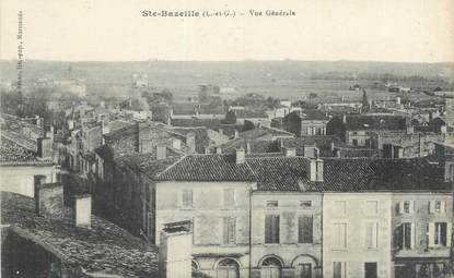"""CPA FRANCE 47 """"Sainte Bazeille, vue générale"""""""