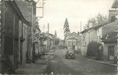 """CPSM FRANCE 47 """"Saint Sylvestre, la rue principale"""""""