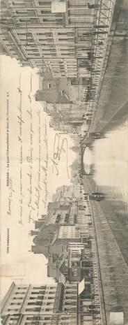 "CPA PANORAMIQUE FRANCE 35 ""Rennes, le quai Chateaubriand"""