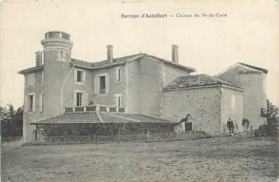 """CPA FRANCE 47 """"Château de Pé du Casse"""""""