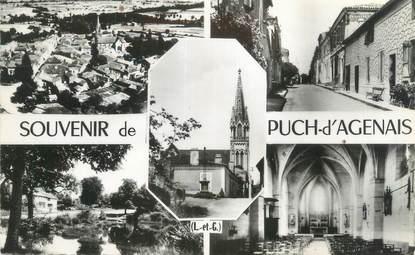 """CPSM FRANCE 47 """"Puch d'Agenais"""""""