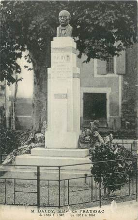 "CPA FRANCE 47 ""Prayssac, monument aux morts"""