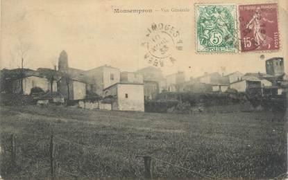 """CPA FRANCE 47 """"Monsempron, vue générale"""""""