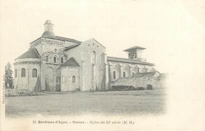 "CPA FRANCE 47 ""Moirax, église du XIè siècle"""