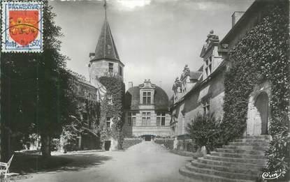 """CPSM FRANCE 47 """"Lauzun, château, cour d'honneur"""""""