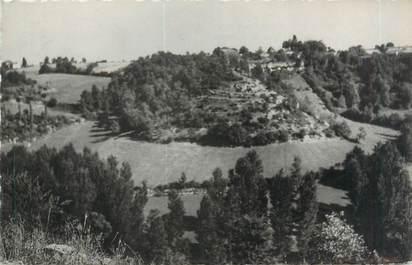 """CPSM FRANCE 47 """"Laroque Timbaut, vue sur les grottes et Monfourton"""""""