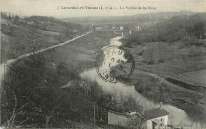 """CPA FRANCE 47 """"Lavardac et Vianne, la vallée de la Baïse"""""""