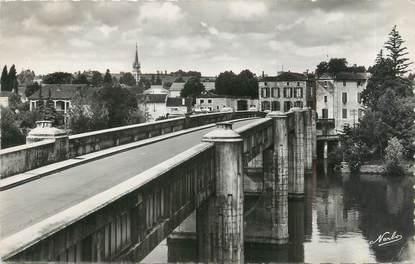 """CPSM FRANCE 47 """"Libos, le pont sur le Lot"""""""