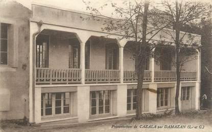 """CPA FRANCE 47 """"Damazan, préventorium de Cazala"""""""