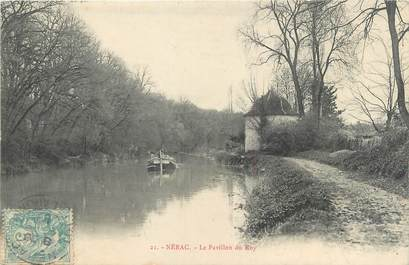 """CPA FRANCE 47 """"Nérac, le pavillon du Roy"""" / PENICHE"""