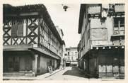 """47 Lot Et Garonne CPSM FRANCE 47 """"Villeneuve sur Lot, vieilles maisons, rue Parmentier"""""""
