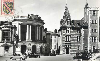 """CPSM FRANCE 47 """"Agen, le théâtre et le musée"""""""