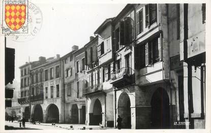 """CPSM FRANCE 47 """"Agen, les arcades de la rue des Cornières"""""""