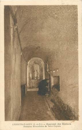 """CPA FRANCE 47 """"L'Ermitage Agen, couvent des Carmes"""""""